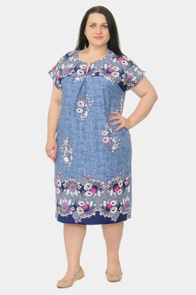 Платье трикотажное Эвона фото