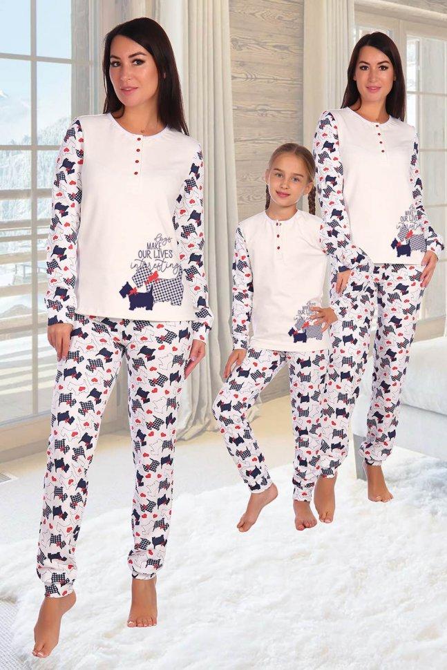 Пижама трикотажная Свобода фото