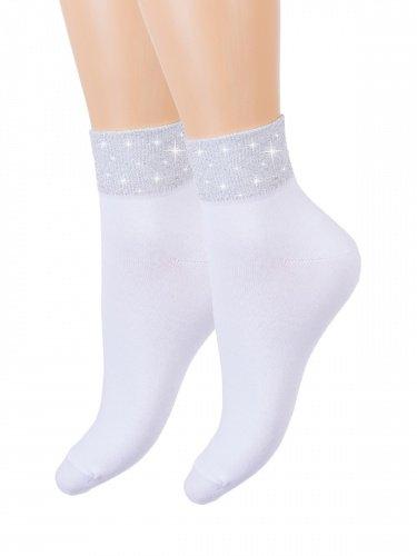 Носки женские Гармония (белые) зк