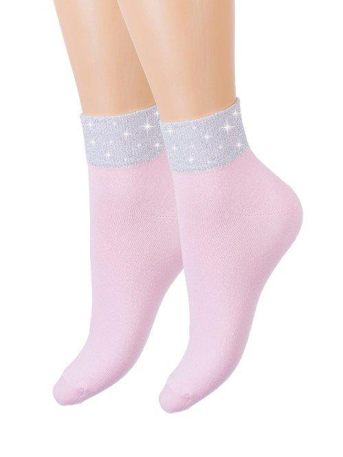 Носки женские Гармония (розовые) зк