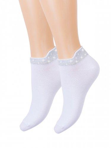 Носки женские Созвездие (белые) зк