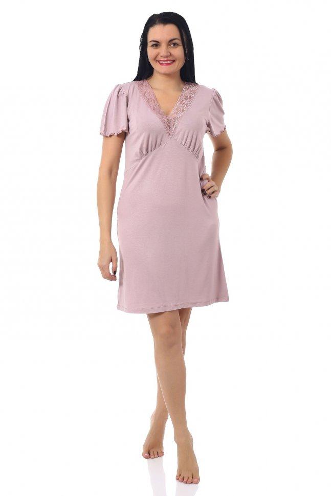 Ночная сорочка Бенти (розовая) фото