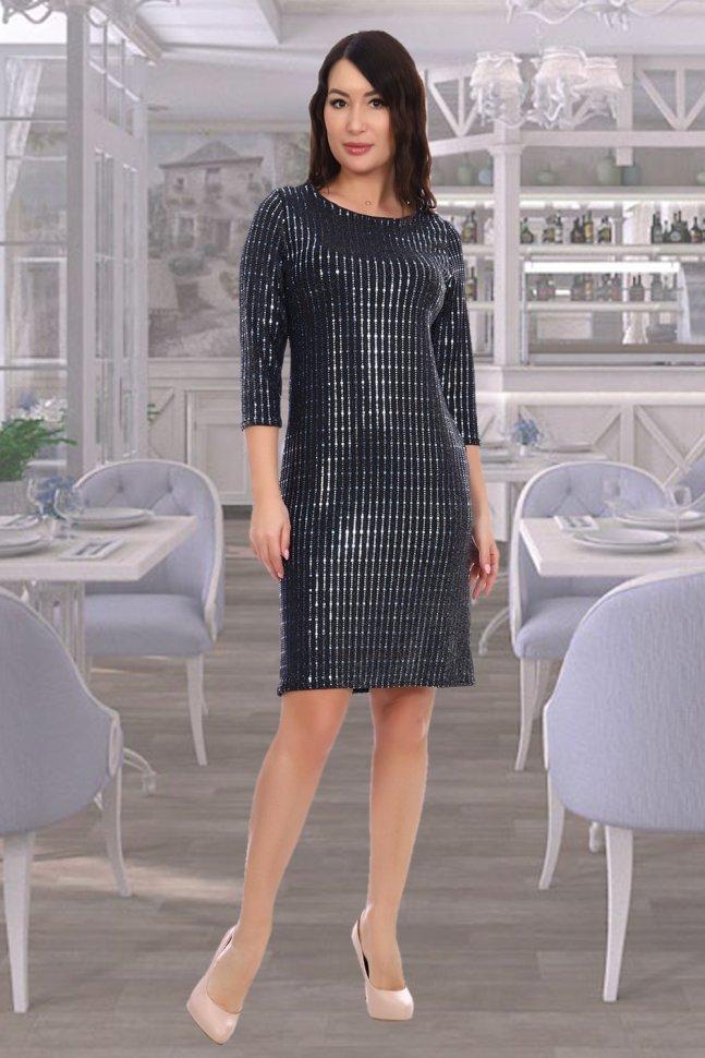 Платье трикотажное Ирада фото