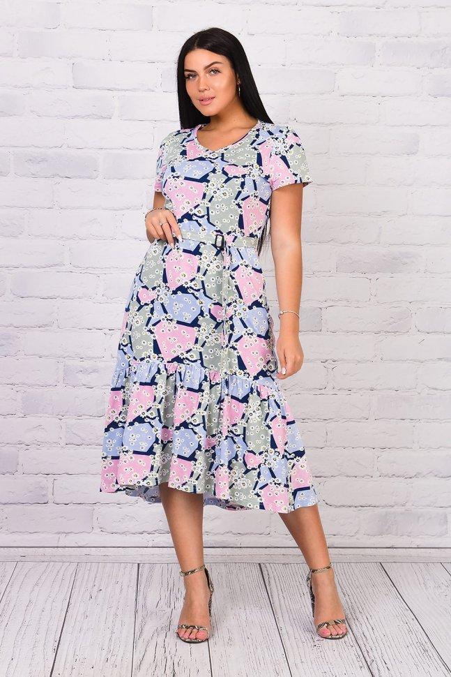 Платье трикотажное Мими