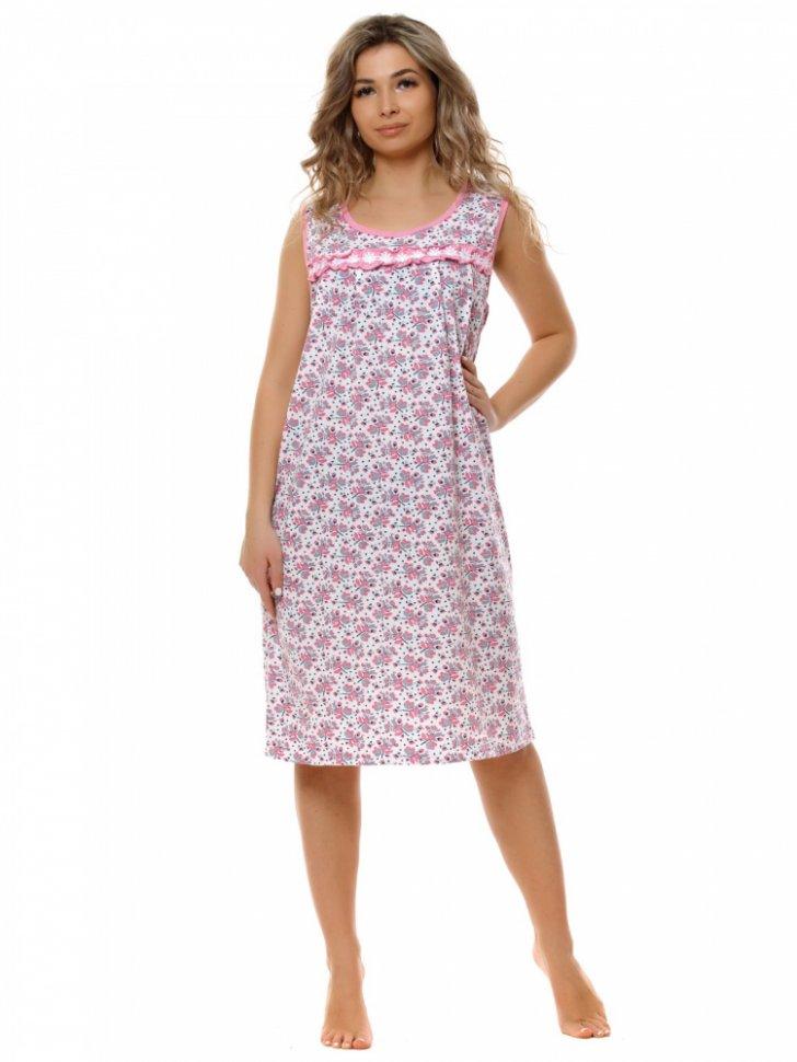 Ночная сорочка Эрна (розовая)