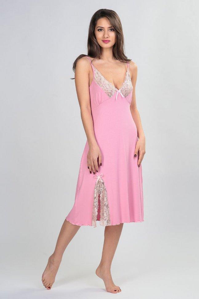 Ночная сорочка Агата (розовая)