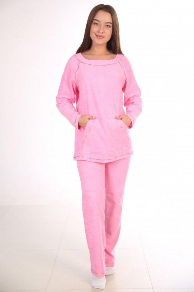 Костюм махровый Элайя (розовый) фото