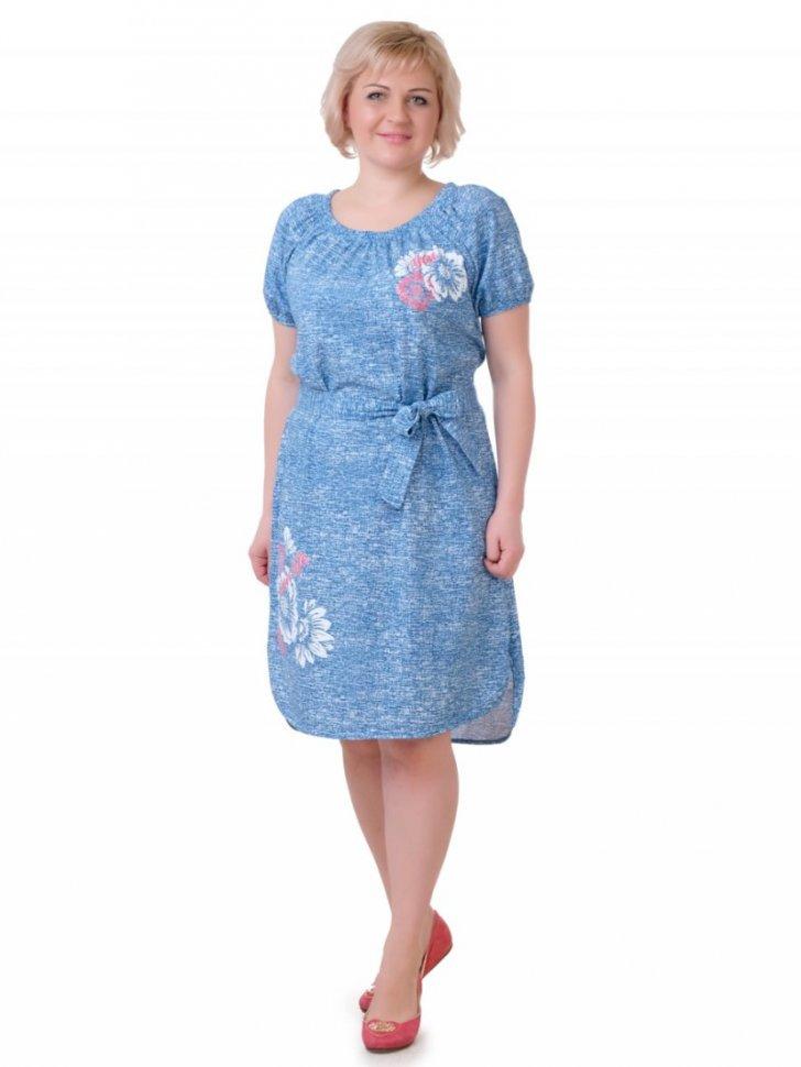 Платье трикотажное Белиссимо фото