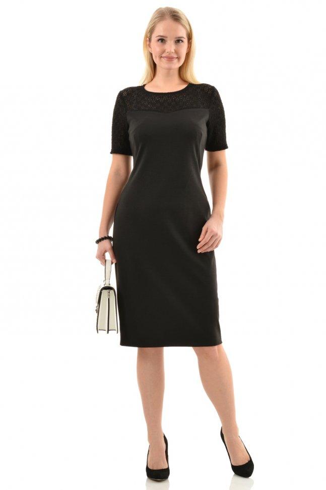 Платье трикотажное Донателла (гипюр)