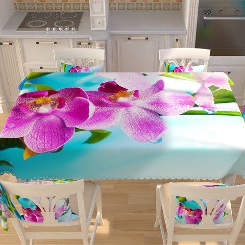 Скатерть 145x145 Орхидея фото