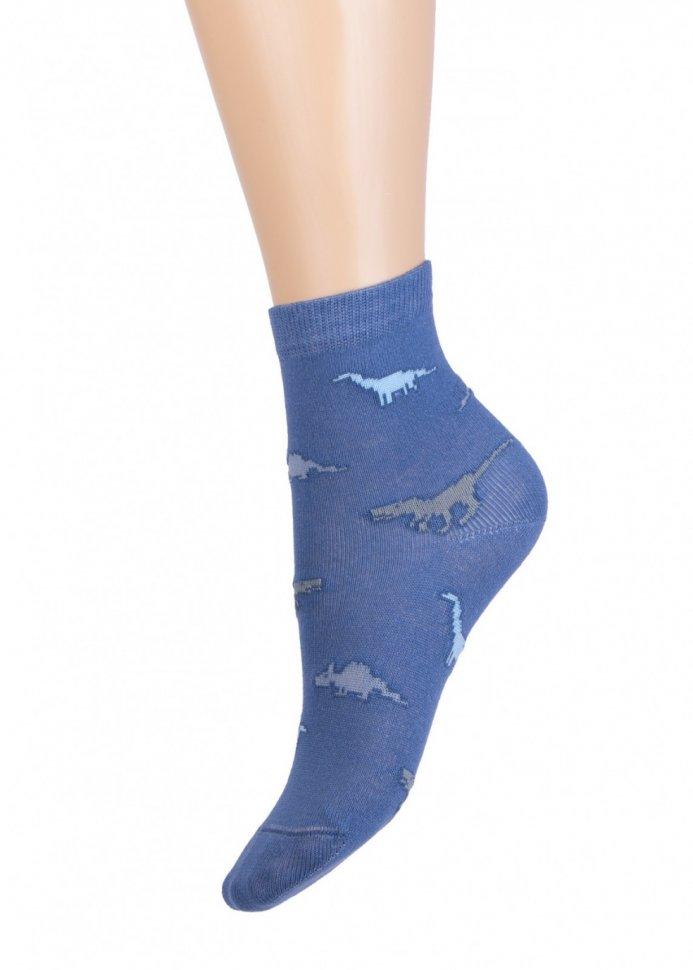 Носки детские Динозаврики (синие)