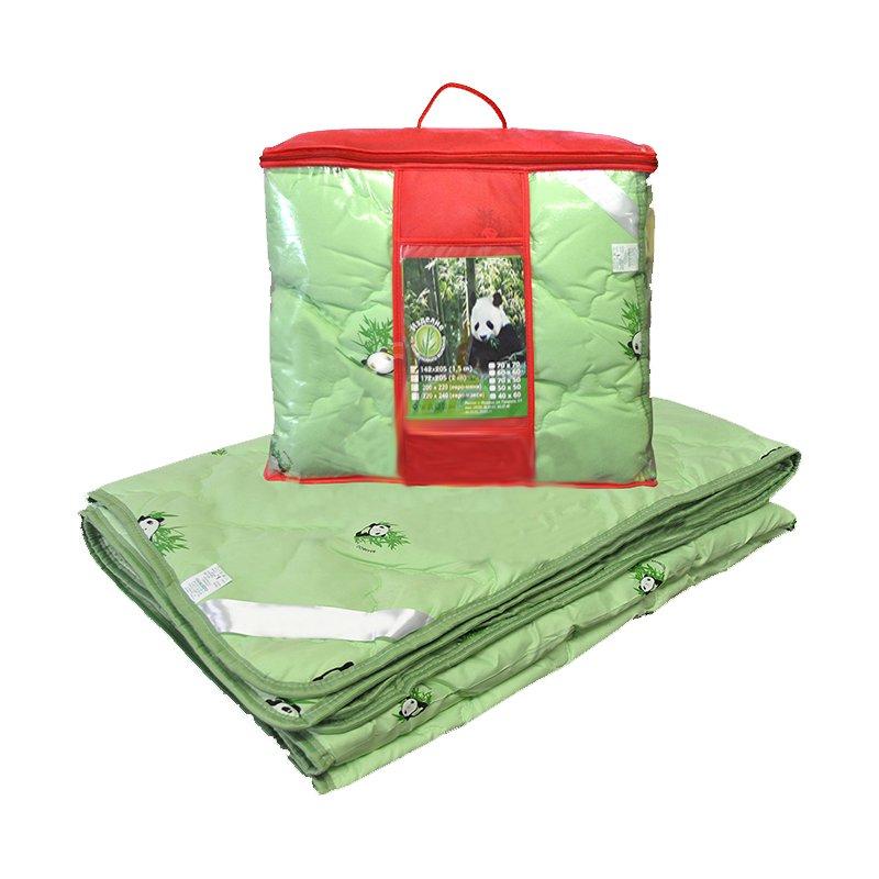 Одеяло бамбук детское с чехлом из тика (теплое) фото