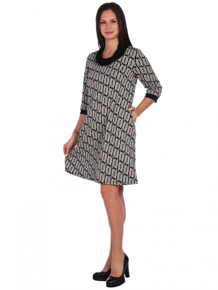 Платье трикотажное Мэй фото