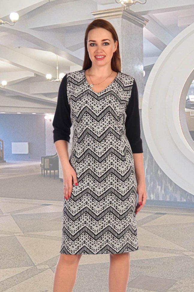 Платье трикотажное Жимолость фото