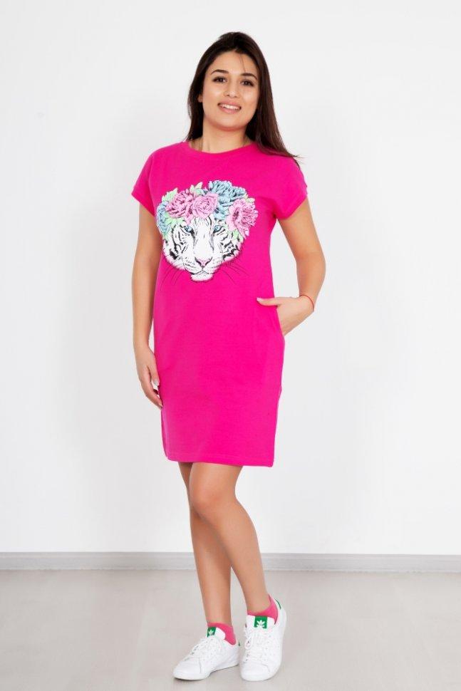 Платье трикотажное Эльвира фото