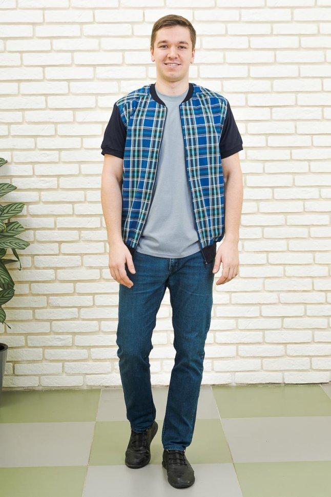 Рубашка мужская Аполлон (синяя)
