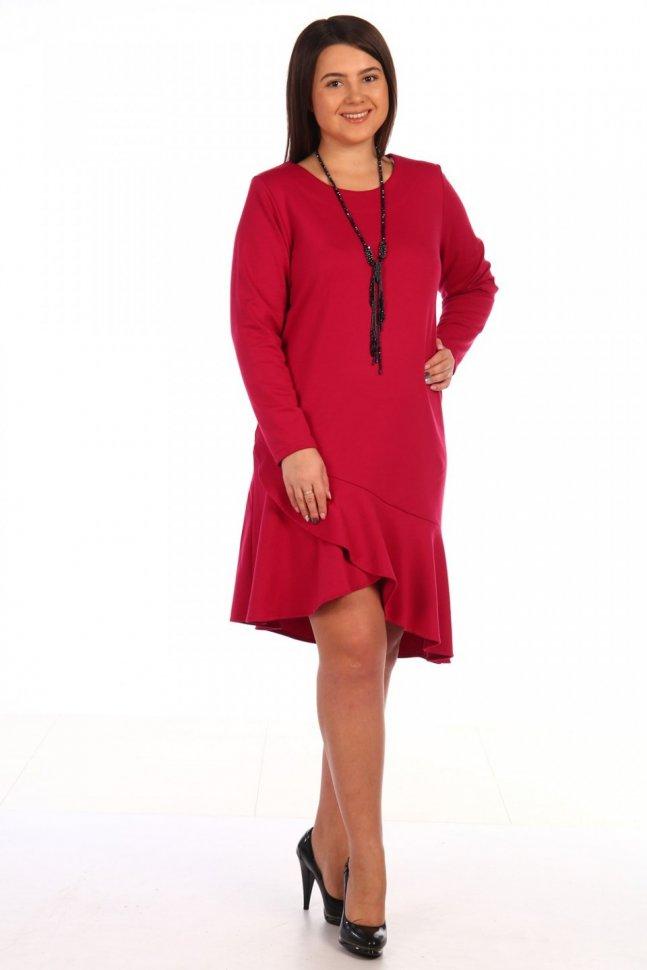 Платье трикотажное Дороти (в ассортименте) фото