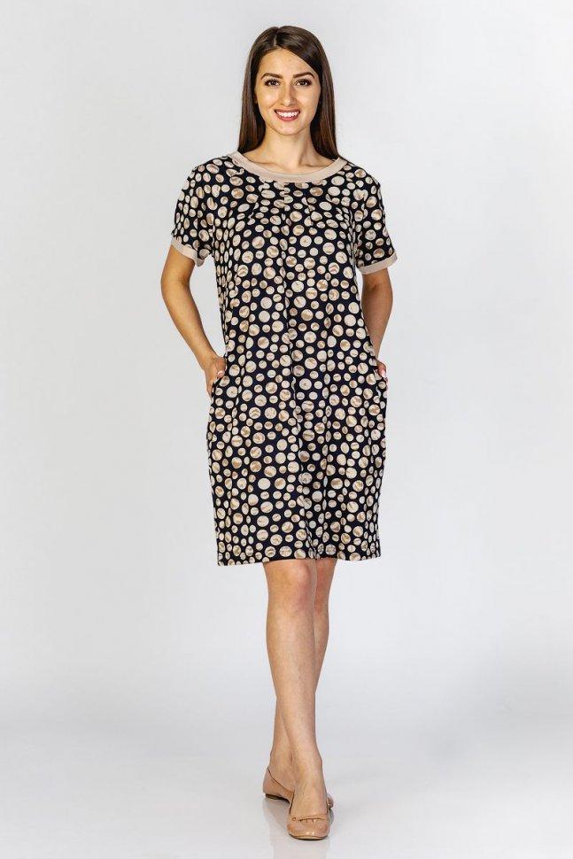Платье вискозное Полет фото