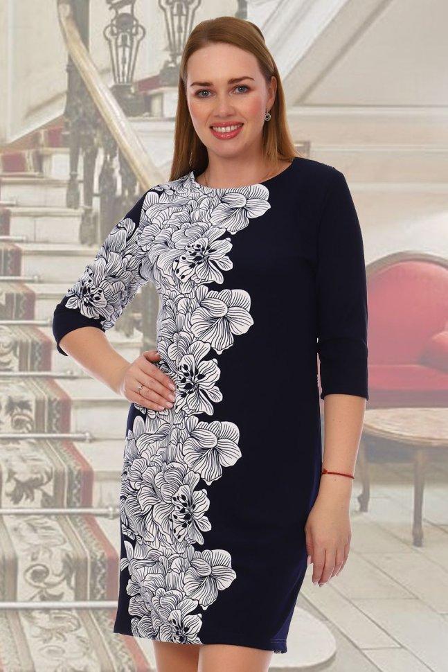 Платье трикотажное Юнити фото