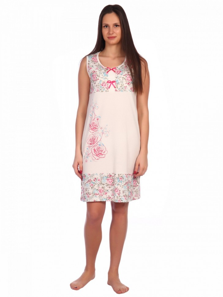 Ночная сорочка Агнус (розовая)