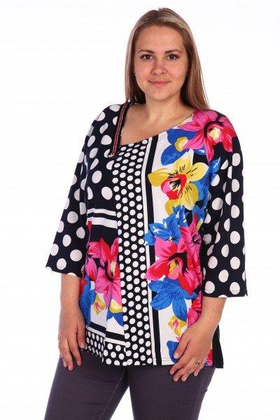 Блуза трикотажная Бетани фото