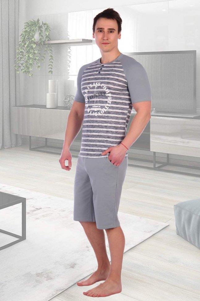 Костюм мужской Кирилл (серый) фото