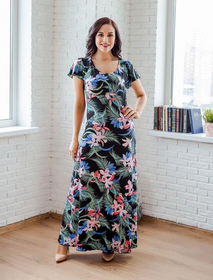 Платье вискозное Зельда фото