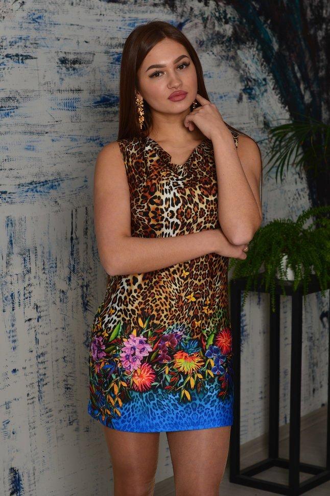Платье вискозное Вега фото