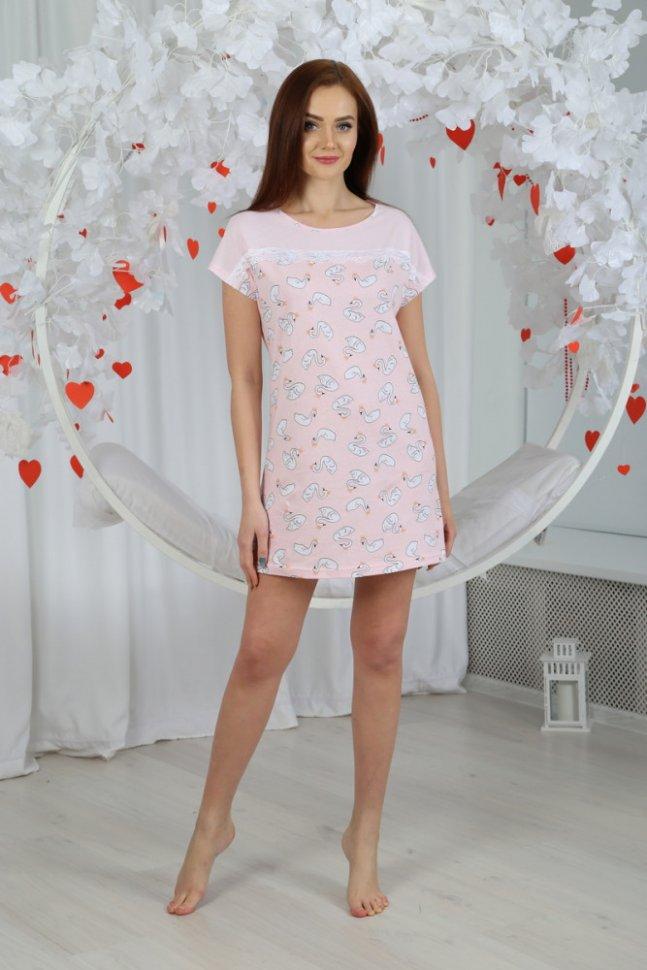 Ночная сорочка Гретэль (розовая) фото