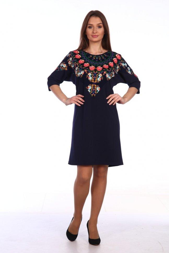 Платье трикотажное Бриджит фото