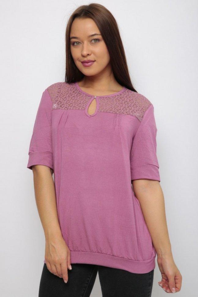 Блуза трикотажная Жасмин фото