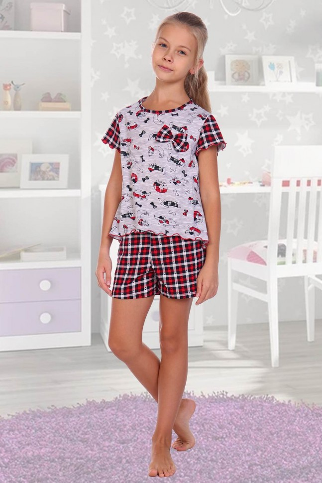 Пижама детская Бантик фото