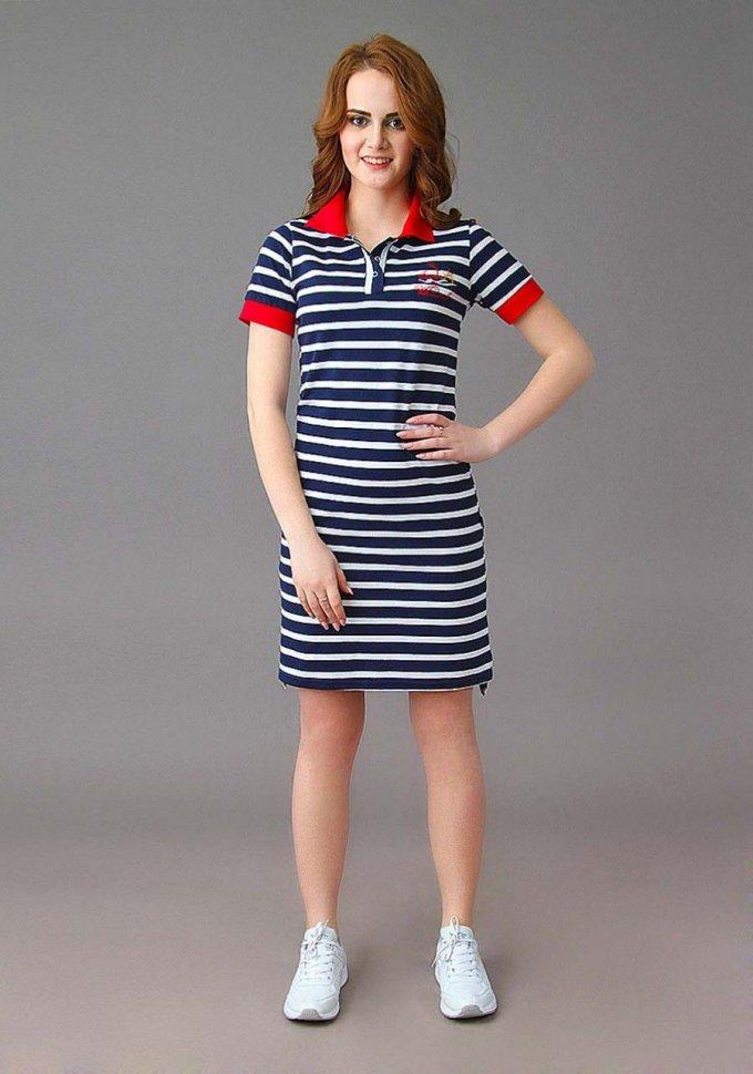 Платье трикотажное Даймонд фото