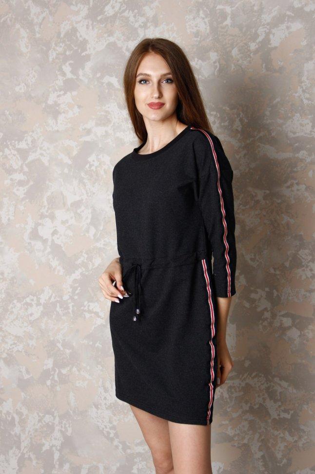 Платье трикотажное Галя фото