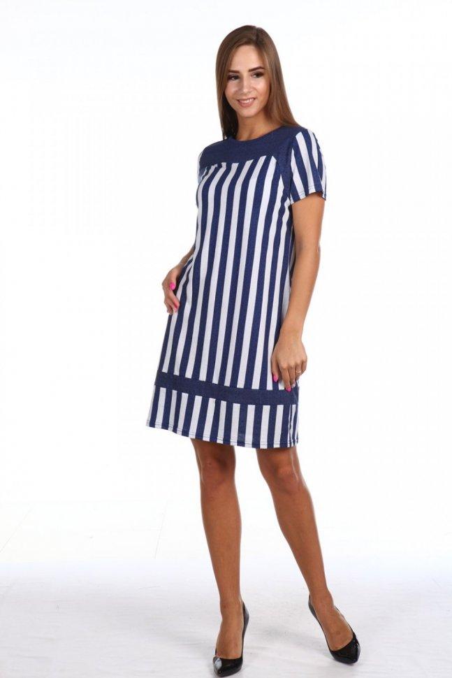 Платье трикотажное Аврора фото