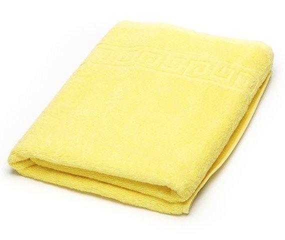 Полотенце махровое 40x70 Ашхабад (лимонное)