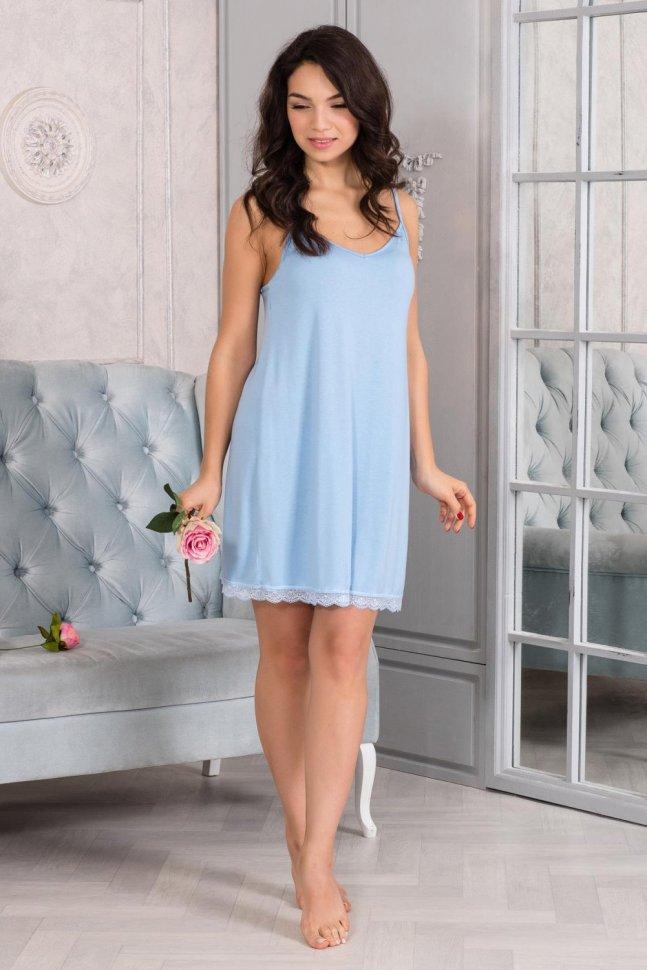 Ночная сорочка Клодетт (голубая)