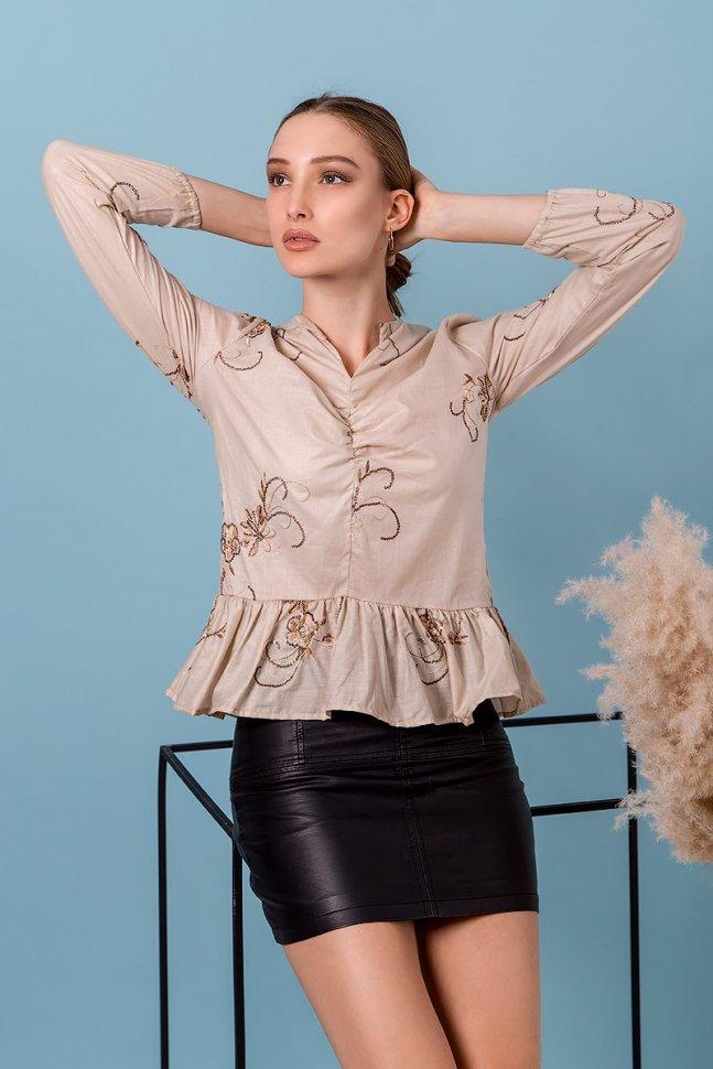 Блуза трикотажная Альмира фото