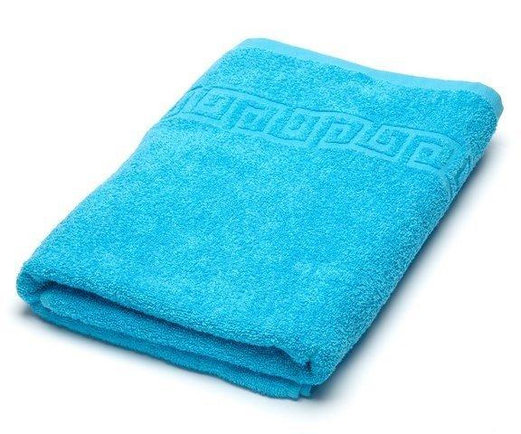 Полотенце махровое 70x140 Ашхабад (бирюзовое)
