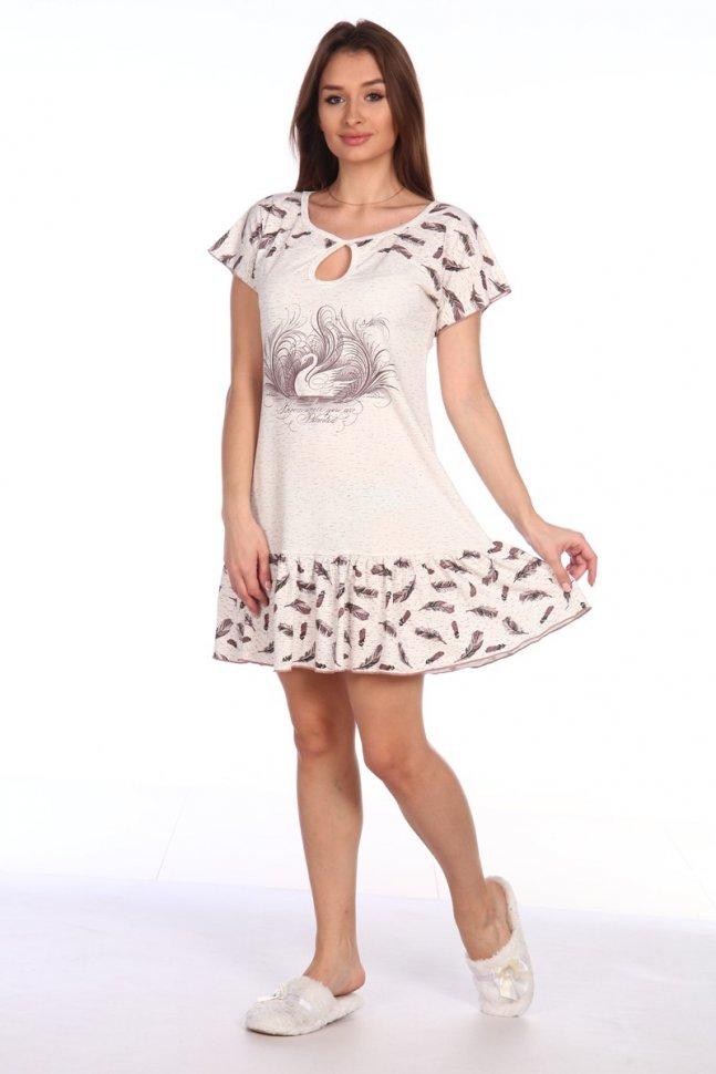 Ночная сорочка Лебедушка