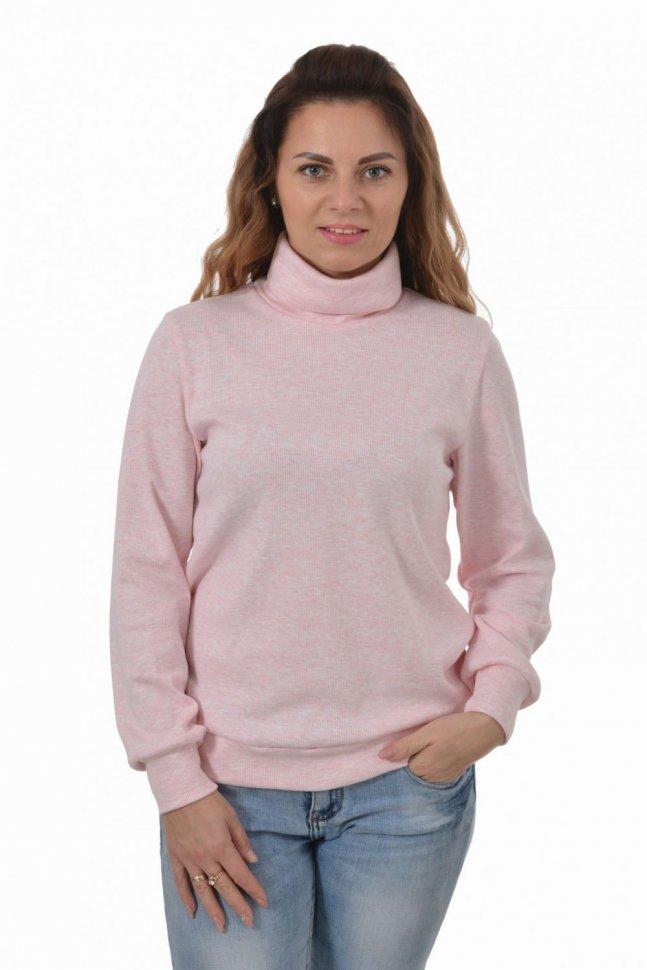 Водолазка трикотажная Ребекка (розовая) фото
