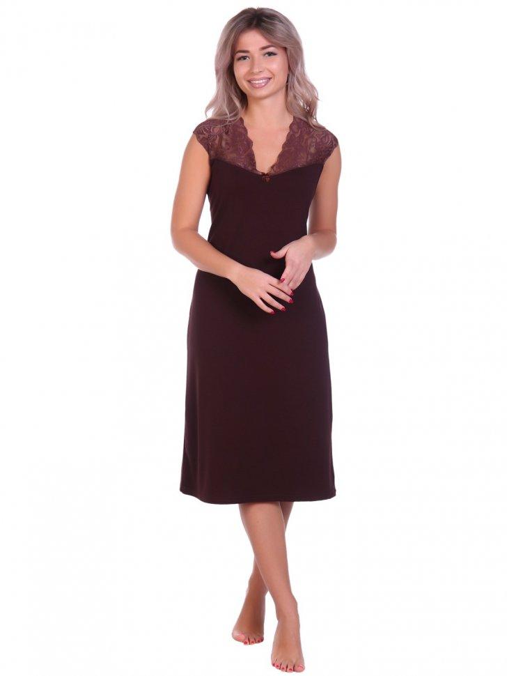 Ночная сорочка Кейт (коричневая)