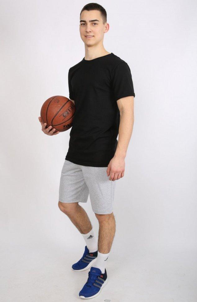 Костюм мужской Арсений (черно-серый) фото