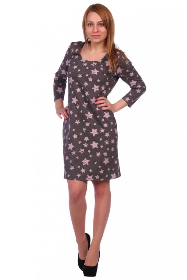 Платье трикотажное Клементина фото