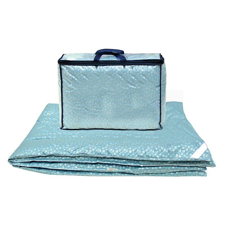 Одеяло водоросли евро с чехлом из тика фото