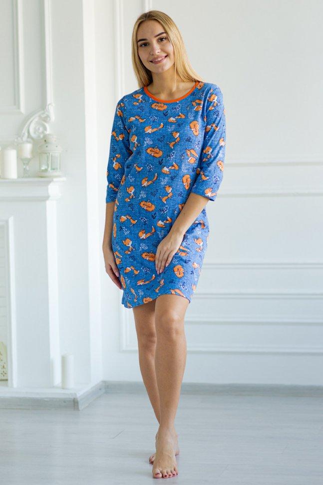 Ночная сорочка Джулианна (синяя)