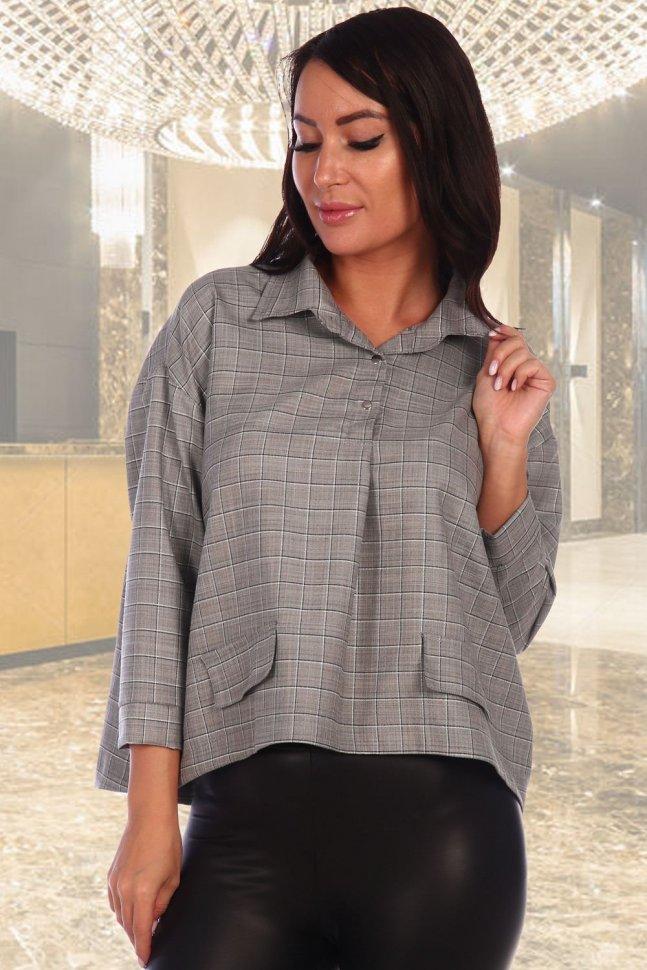 Рубашка трикотажная Джина фото