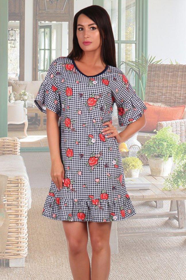 Платье трикотажное Сельма фото