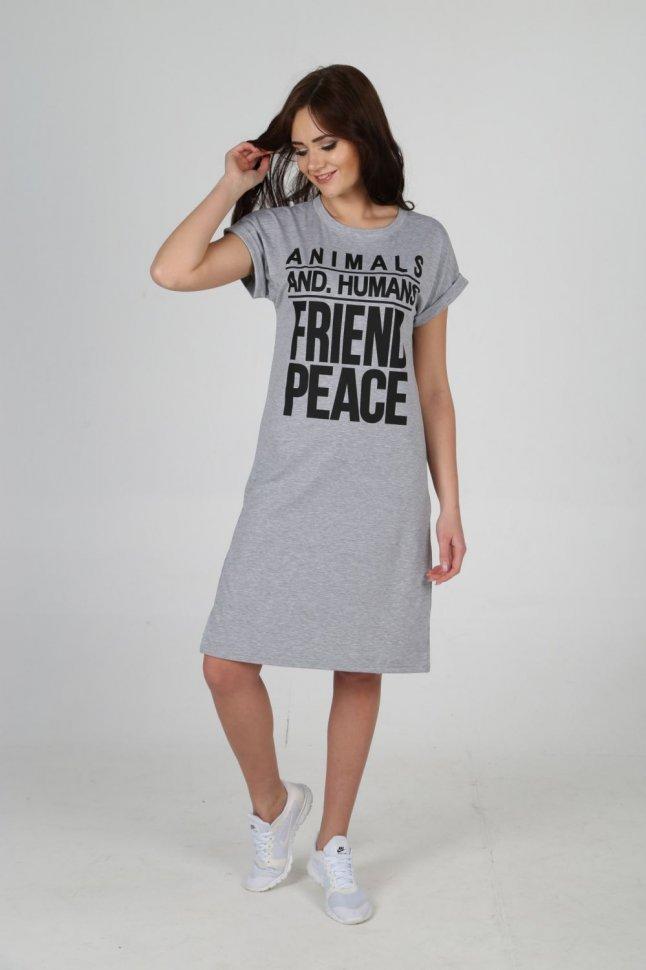 Платье трикотажное Дамиана фото