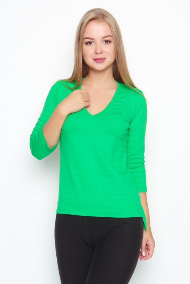 Блуза трикотажная Камилла (в ассортименте) фото